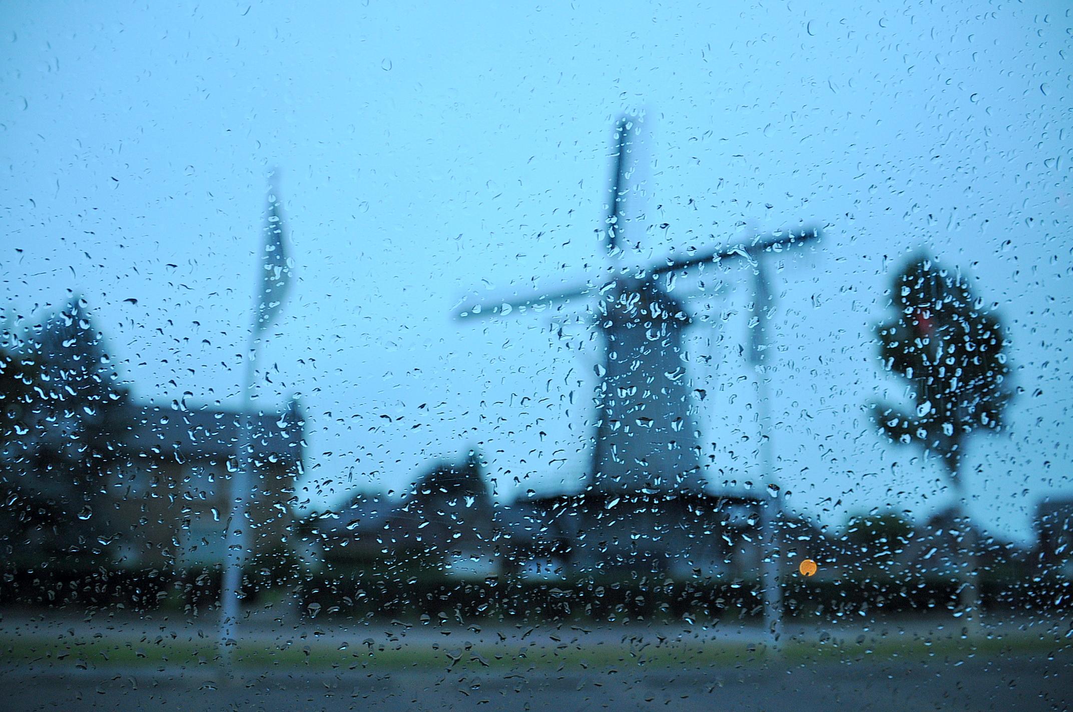 lichte regen